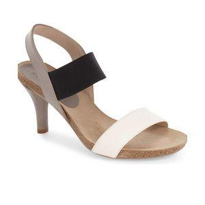 ANYI LU NEW ' Bianca' Two-Strap Sandal sz 35